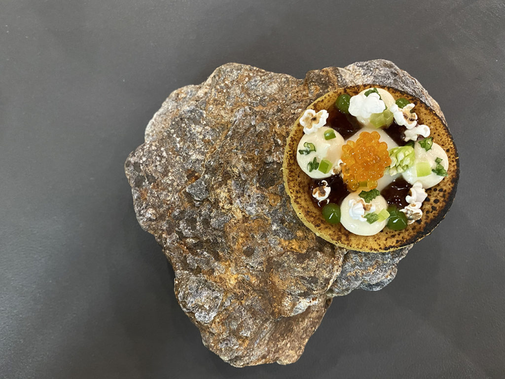 Dine with all five senses at Counter-'s elaborate 10-course dinner