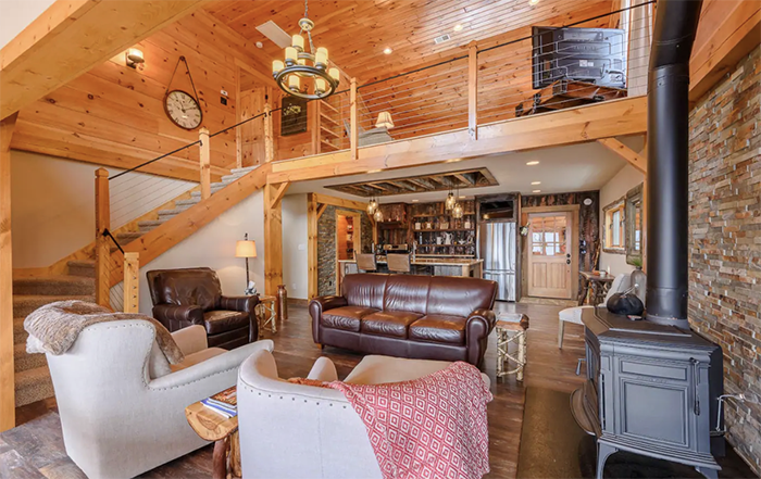 Luxury Cabin interior