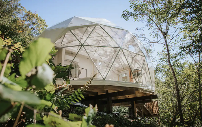 Luxury Glamping Dome