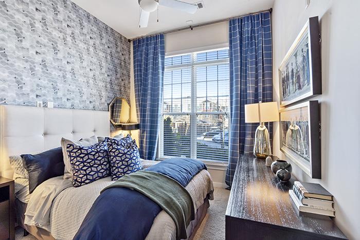 Wren at Northlake Model Bedroom 2