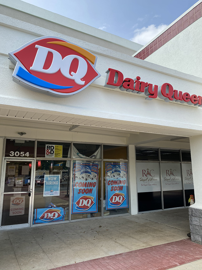 Dairy Queen's new spot at Eastway Crossing