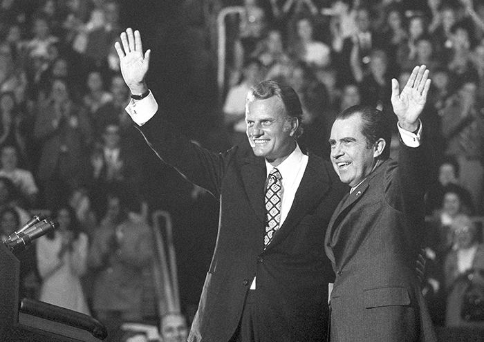Billy Graham,Richard Nixon