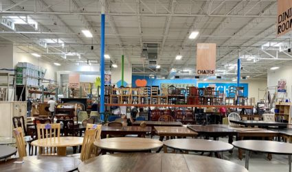 Habitat's Charlotte Region ReStores are magical places for home décor thrifters and bargain hunters