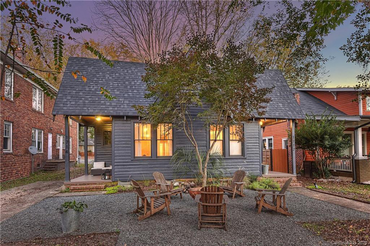 See inside: Plaza Midwood cottage with built-in Airbnb flies off the market in 24 hours