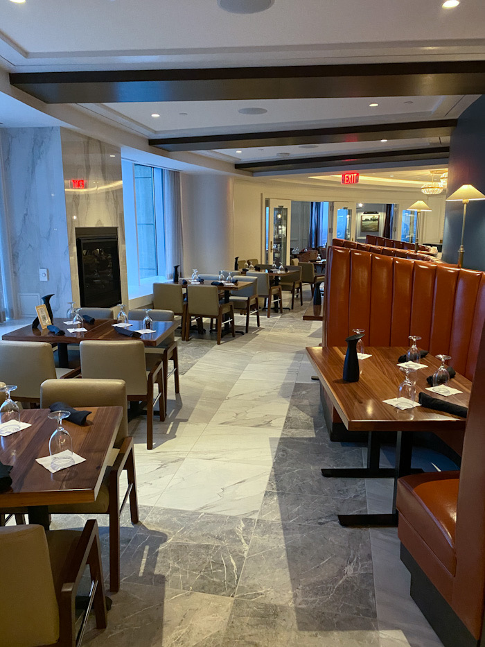 Charlotte City Club Main Dining Room