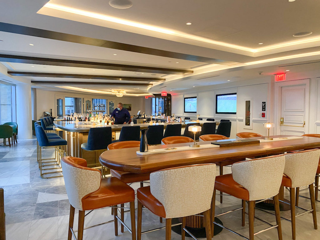 Ritzy, members-only Charlotte City Club reopens after its renovation