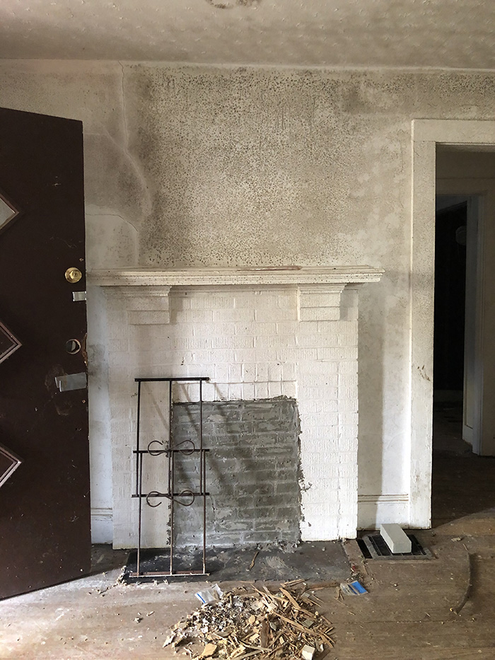 Logan-Patterson Grocery Store fireplace