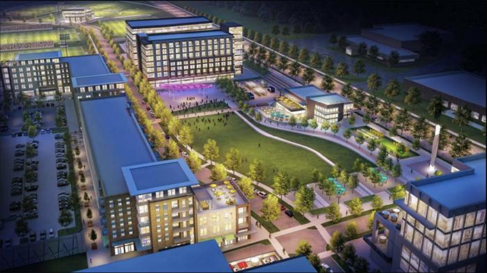Eastland redevelopment rendering