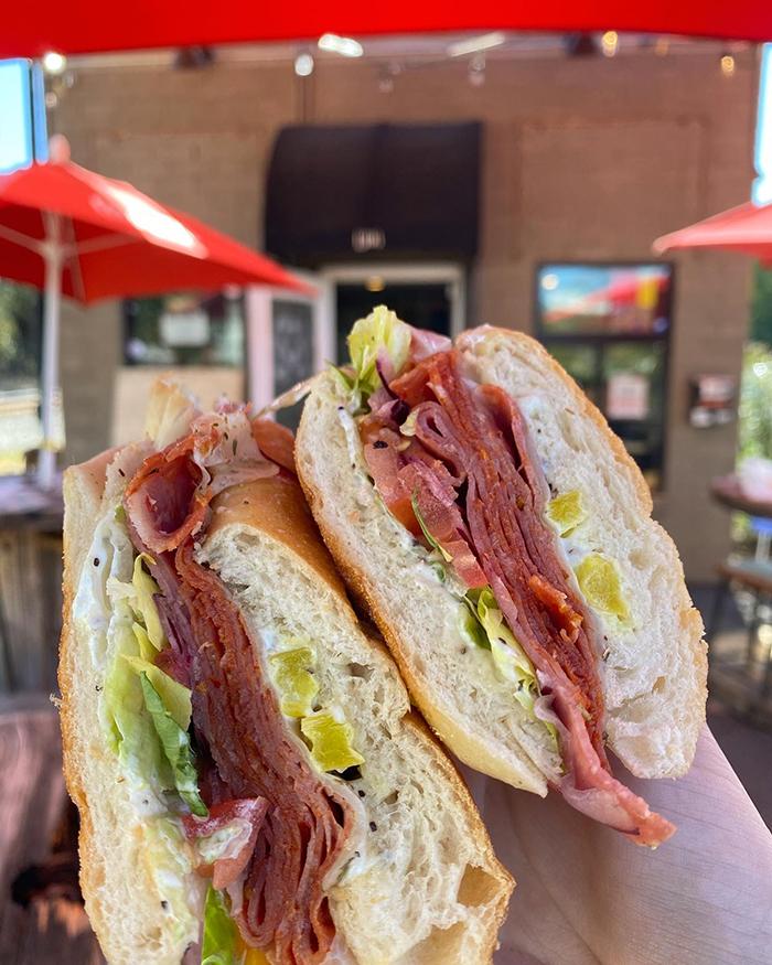 lunchbox plaza midwood sandwich italian