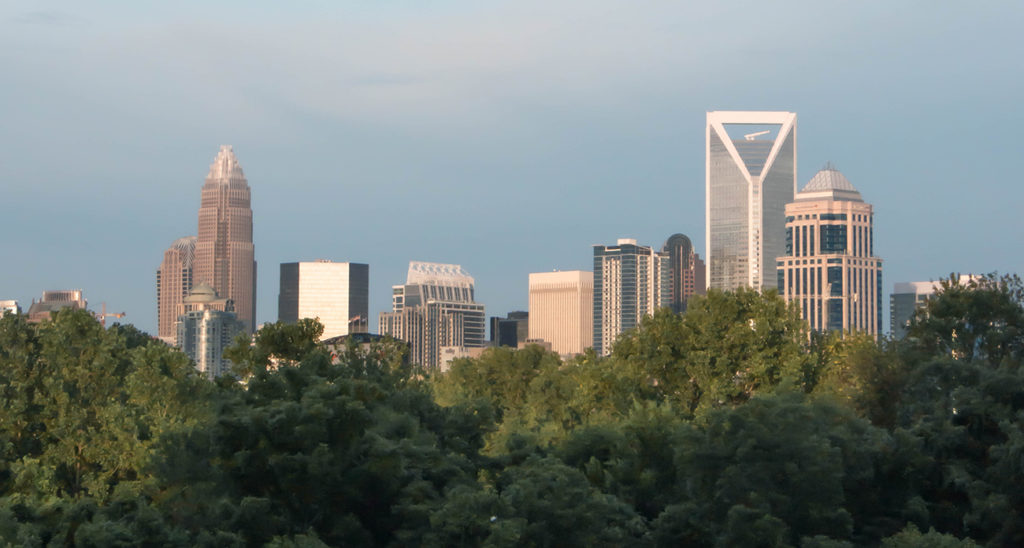 Working from home is the new corporate reality for the foreseeable future in Charlotte