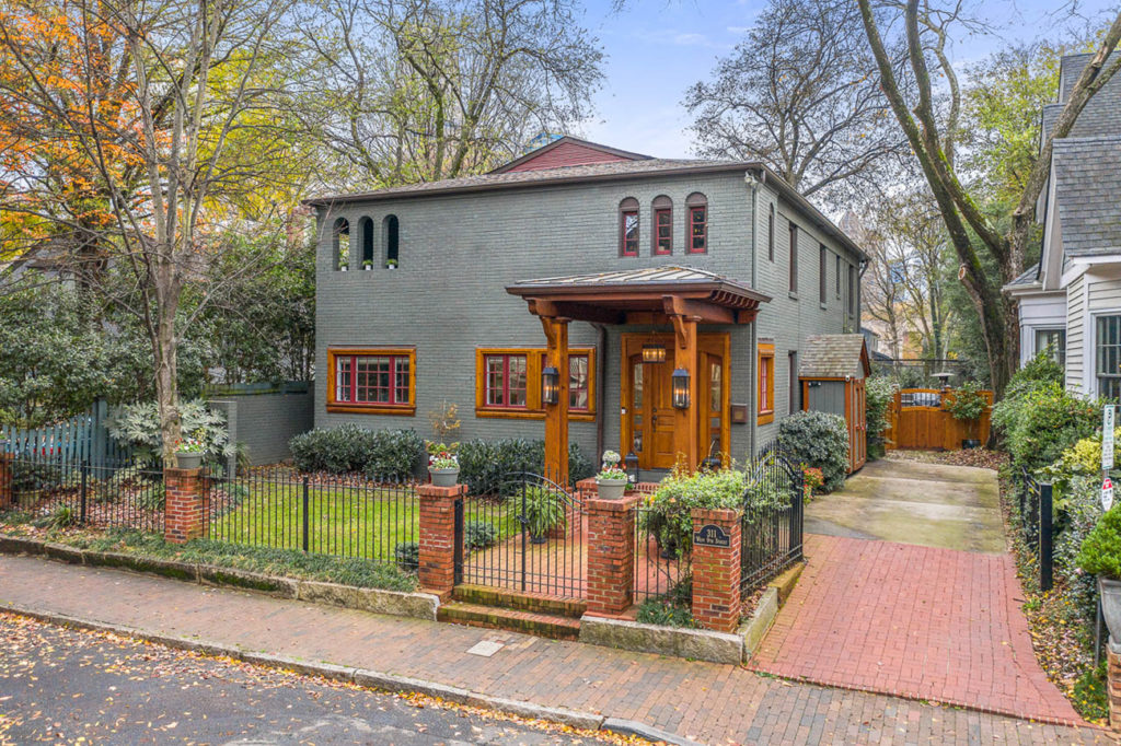 Speakeasy turned Fourth Ward family home asks $1.1M