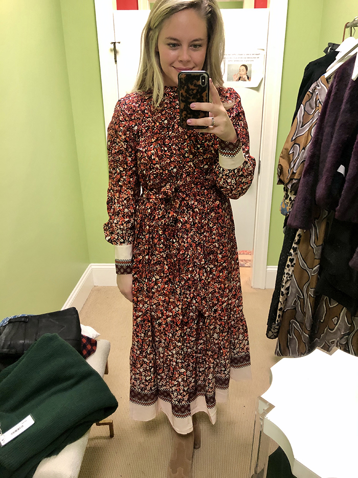 Holiday fashion guide prairie dress trend Charlotte's