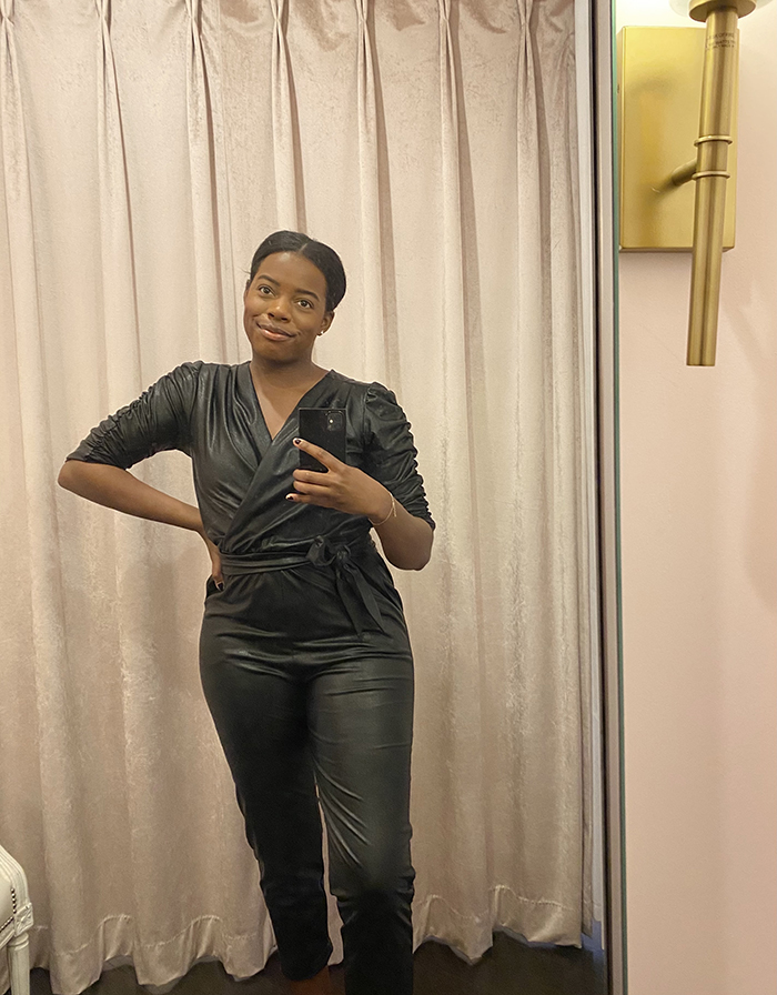 PH leather jumpsuit