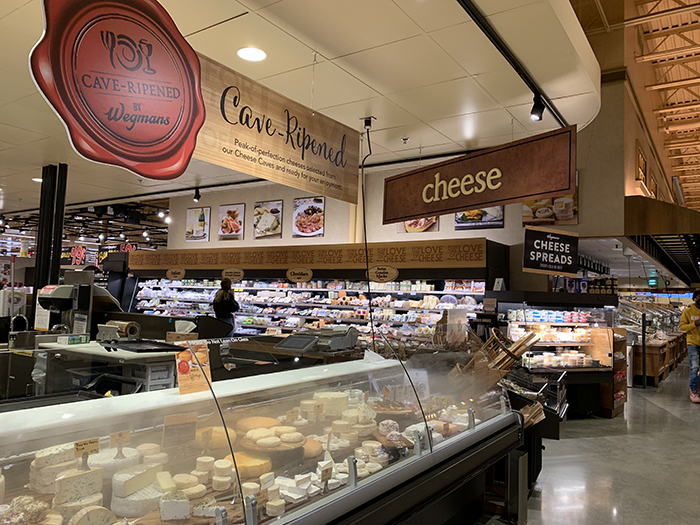 Cheese shop wegmans