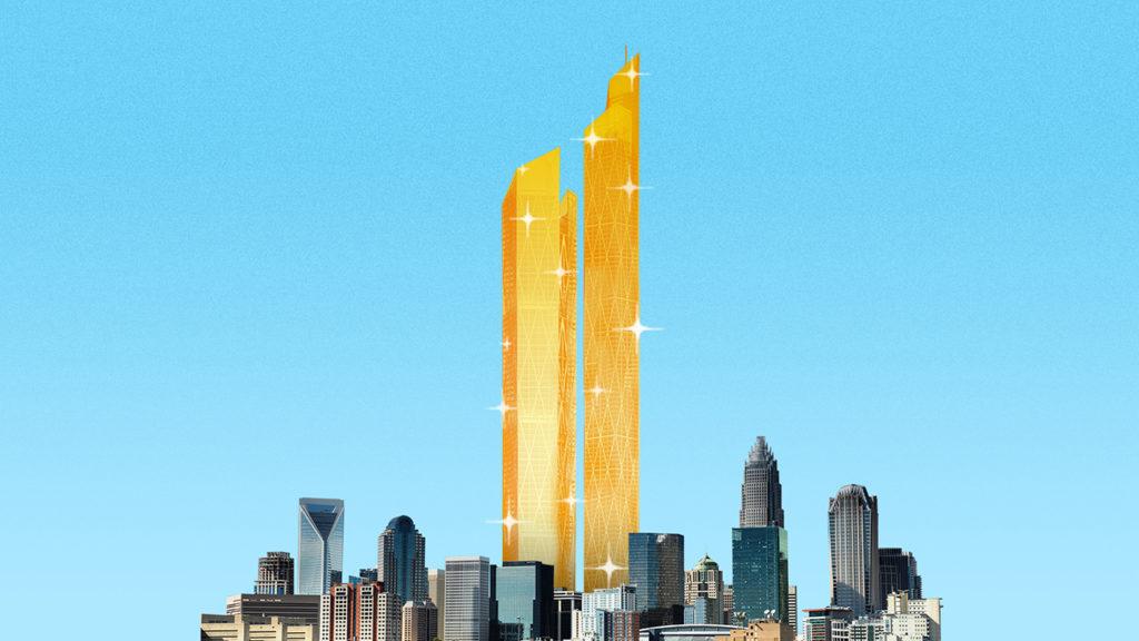 The time Trump almost built Charlotte's tallest skyscraper