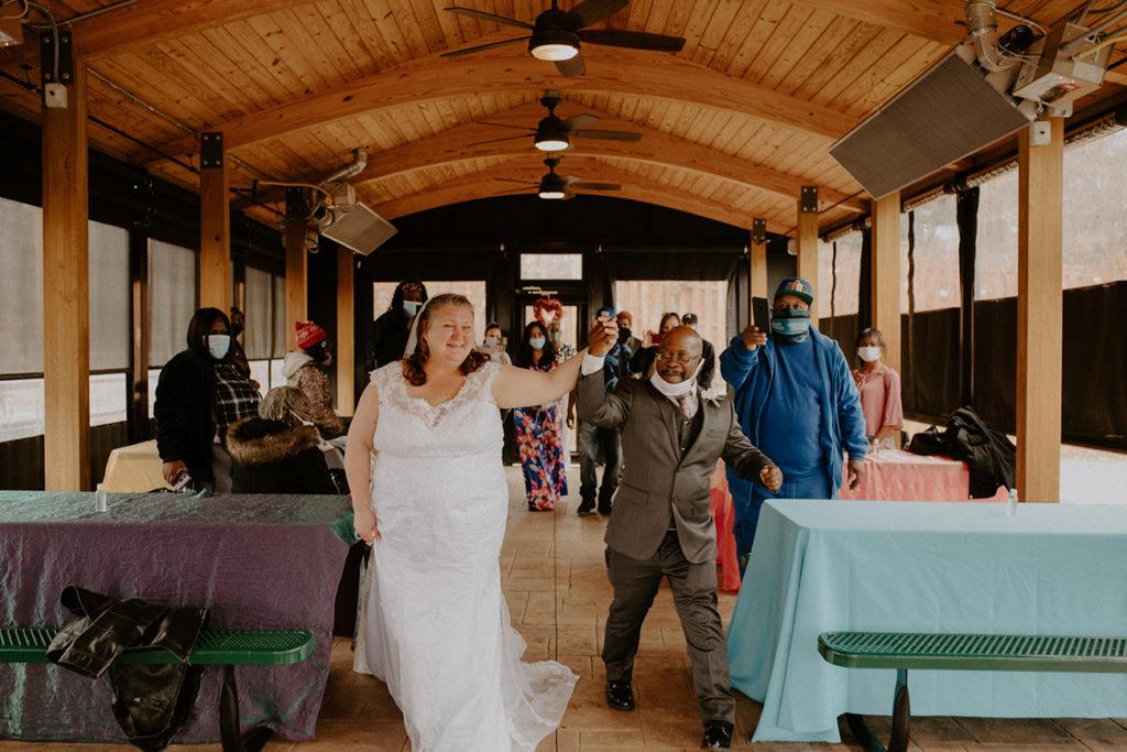 Photos: A tent city wedding