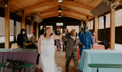 Photos: A tent city wedding