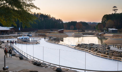 Ice Skating at the Whitewater Center
